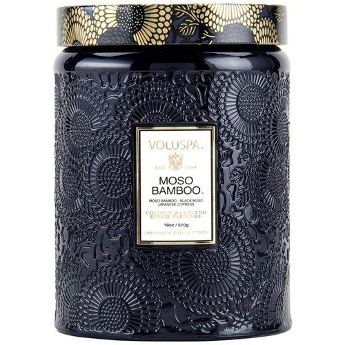 Voluspa Moso Bamboo Large Jar Candle