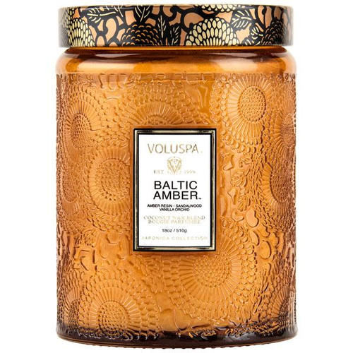 Voluspa Baltic Amber Large ar Candle