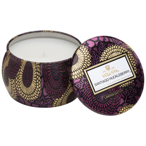 Voluspa Santiago Huckleberry Petite Tin