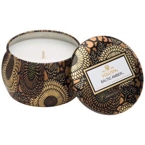 Voluspa Baltic Amber Petite Tin Candle