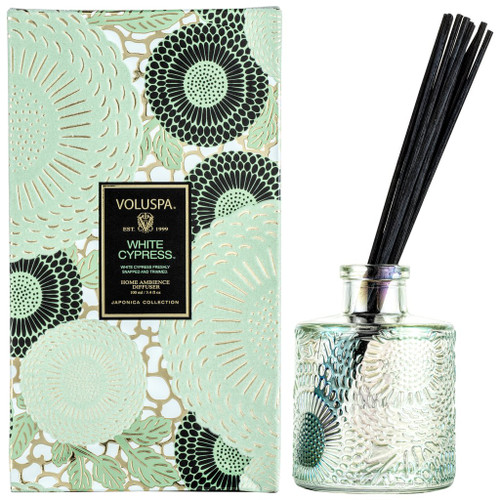 Voluspa White Cypress Reed Diffuser