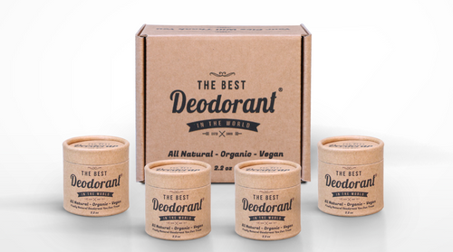 The Best Deoderant in the World Natural Deoderant