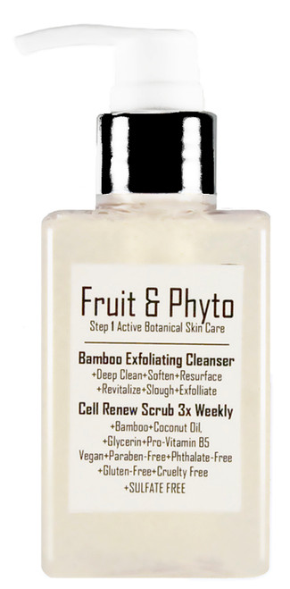 Natural Bamboo Exfoliating Gentle Foaming Cleanser