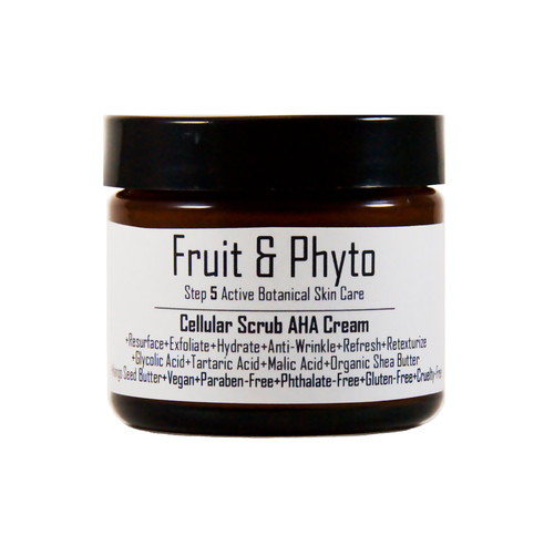 Natural Cellular Scrub AHA's Acids Complex Face Cream