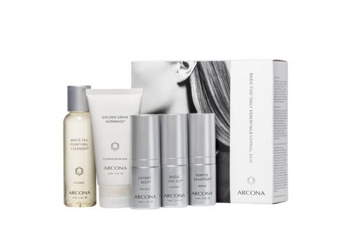 ARCONA Basic Five Normal Skin Type Starter Kit