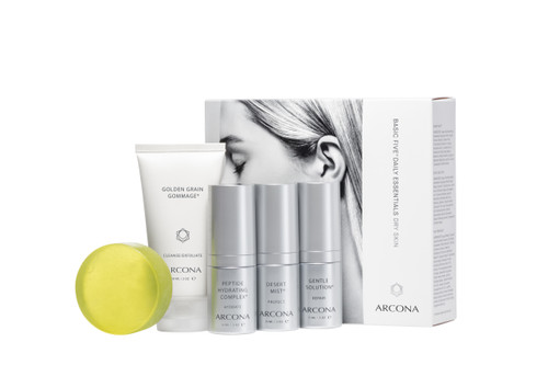 ARCONA Basic Five Dry Skin Type Starter Kit