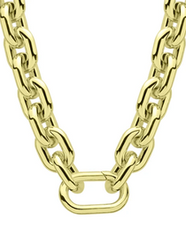 BIANCA NECKLACE / 18K GOLD PLATED