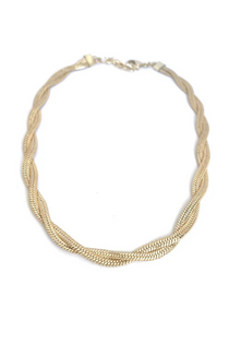 JIMMI GOLD NECKLACE