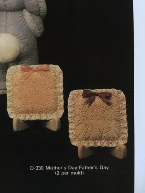 "Dona's 330 Mother's & Father's Day Ornaments, 4""H"