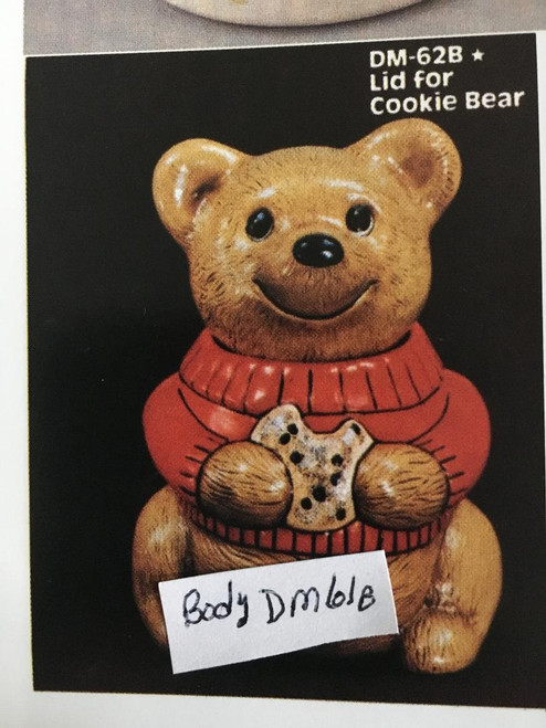 """DM0062B Lid for Cookie Bear 7""""W"""