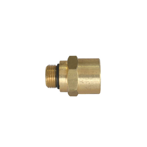 "Conn 3/8"" GF x 1/2"" Female Pipe Thread"