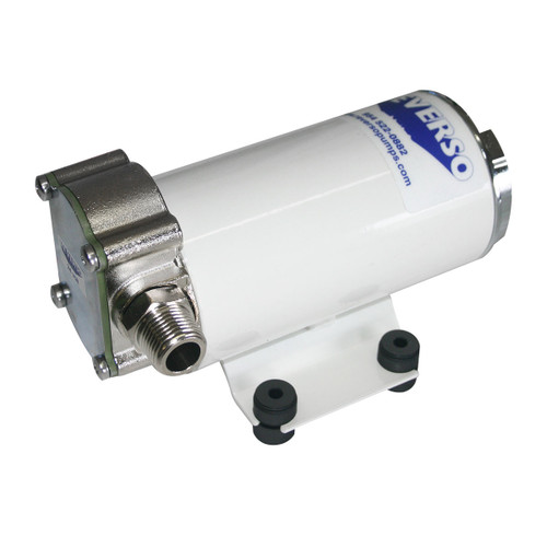 602 Pump - with Logo and Fittings 12 Volt - 15A