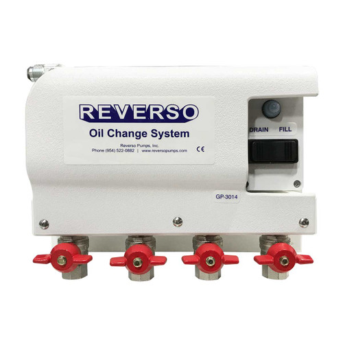Oil Change System - GP-301 Series - 4 Valves -  12 Volt