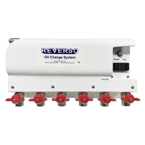 Oil Change System - GP-301 Series - 6 Valves 12 Volt