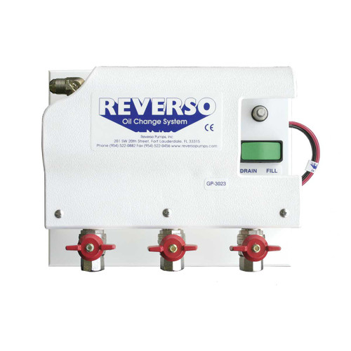 Oil Change System - GP-302 Series - 3 Valves - 12 Volt