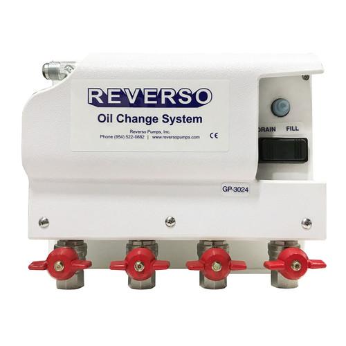 Oil Change System - GP-302 Series - 4 Valve 12 Volt