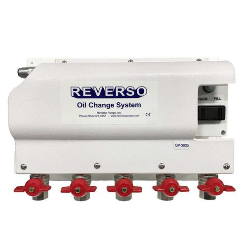 Oil Change System - GP-302 Series -  5 Valves - 12 Volt