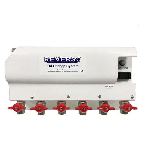 Oil Change System - GP-302 Series -  6 Valves - 12 Volt