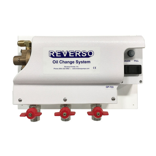 Oil Change System - GP-700 Series -  3 Valves - 12