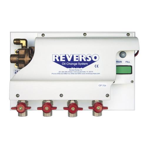 Oil Change System - GP-700 Series -  4 Valves - 24 Volt