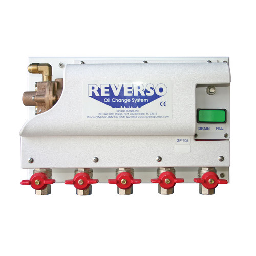 Oil Change System - GP-700 Series -  5 Valves - 12