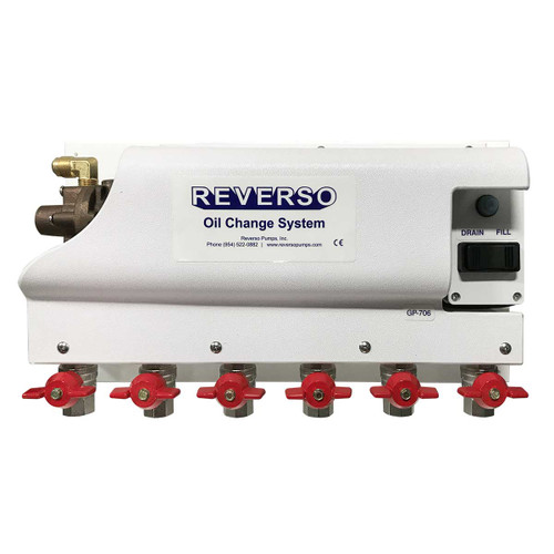 Oil Change System - GP-700 Series -  6 Valves -12