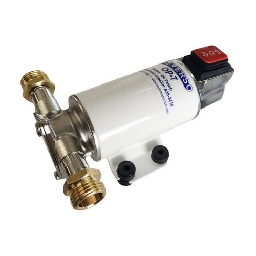 OP-7-12 - Oil Change Pump - Reversing - 12 Volt