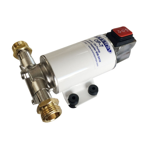 OP-7-24 - Oil Change Pump - Reversing - 24 Volt