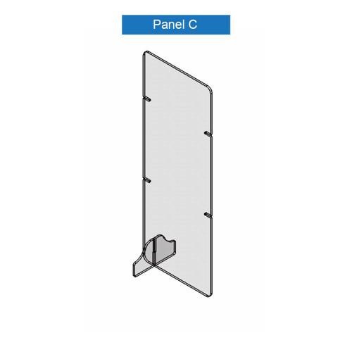 Virus Shield Barrier Panel C