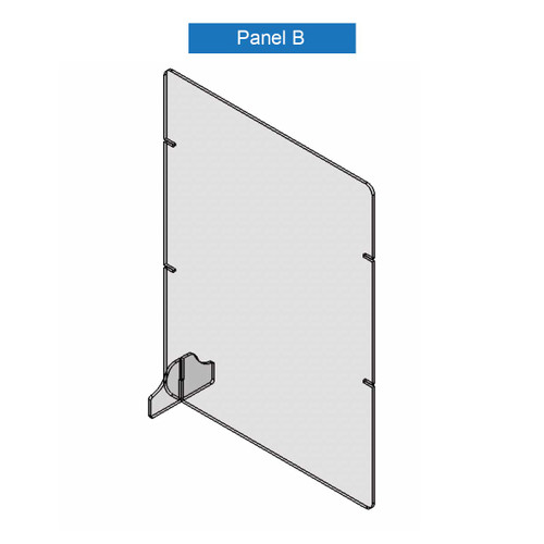 Virus Shield Barrier Panel B