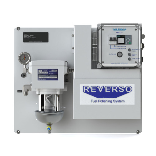 Reverso Fuel Polishing System  FPS-210-120V Digital Controller