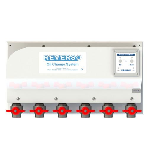 Oil Change System - GP-710 Series -  6 Valves