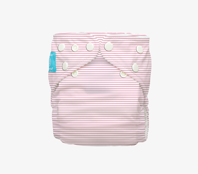Charlie Banana's Newborn Diaper with fleece lining