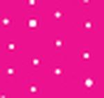 White Polka Dots Hot Pink