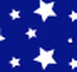 White Stars blue