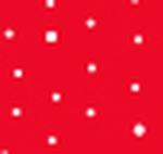 Red Polka Dots White