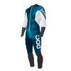 POC Skin GS Junior Race Suit - Butylene Blue