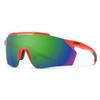 Smith Ruckus Sunglasses - Matte Red Rock w/ Chromapop Green Mirror