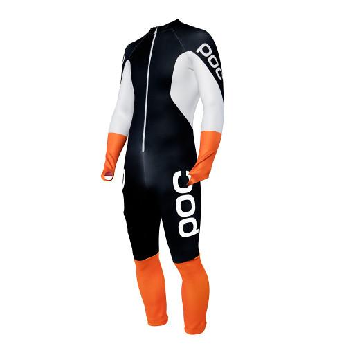 POC Skin GS Junior Race Suit - Uranium Black/Hydrogen White