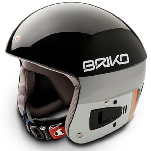 Briko Vulcano FIS Ski Race Helmet - Black