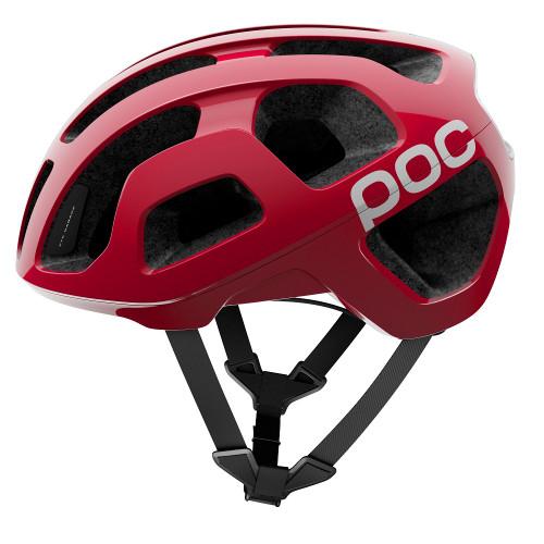 POC Octal Road Bike Helmet - Bohrium Red