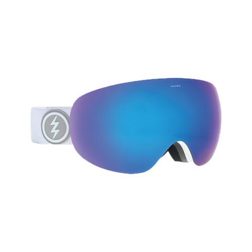 Electric EG3.5 Goggle - Matte White w/ BRose Blue Chrome