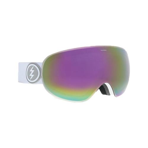 Electric EG3.5 Goggle - Matte White w/ BRose Pink Chrome