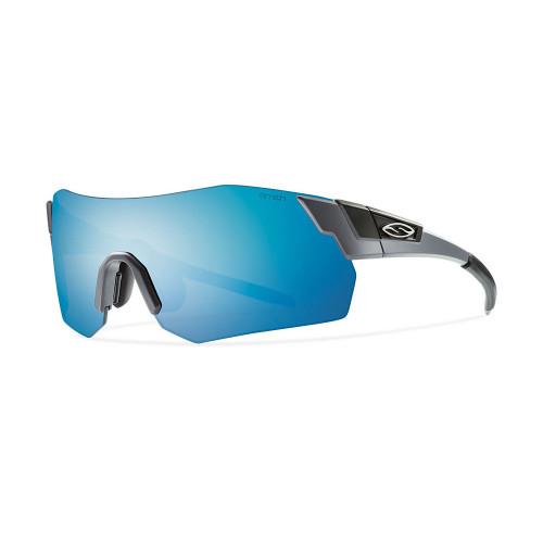 Smith Arena Max Sunglasses - Matte Cement w/ Blue Sol-X Mirror