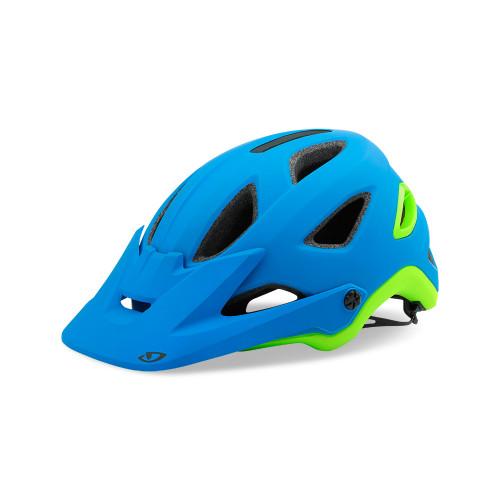 Giro Montaro MIPS Bike Helmet - Matte Blue/Lime