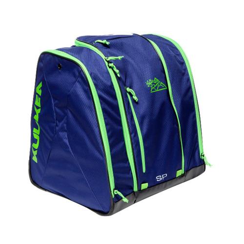 Kulkea Speed Pack Ski Boot Bag - Smoke Blue/Green