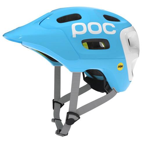 POC Trabec Race MIPS Helmet - Radon Blue