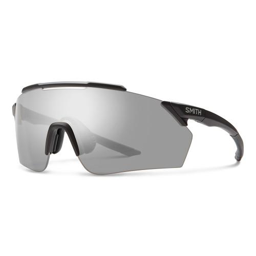 Smith Ruckus Sunglasses - Matte Black w/ Chromapop Platinum Mirror