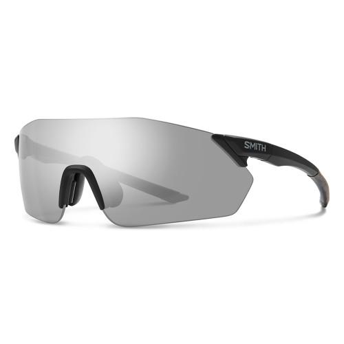 Smith Reverb Sunglasses - Matte Black w/ Chromapop Platinum Mirror