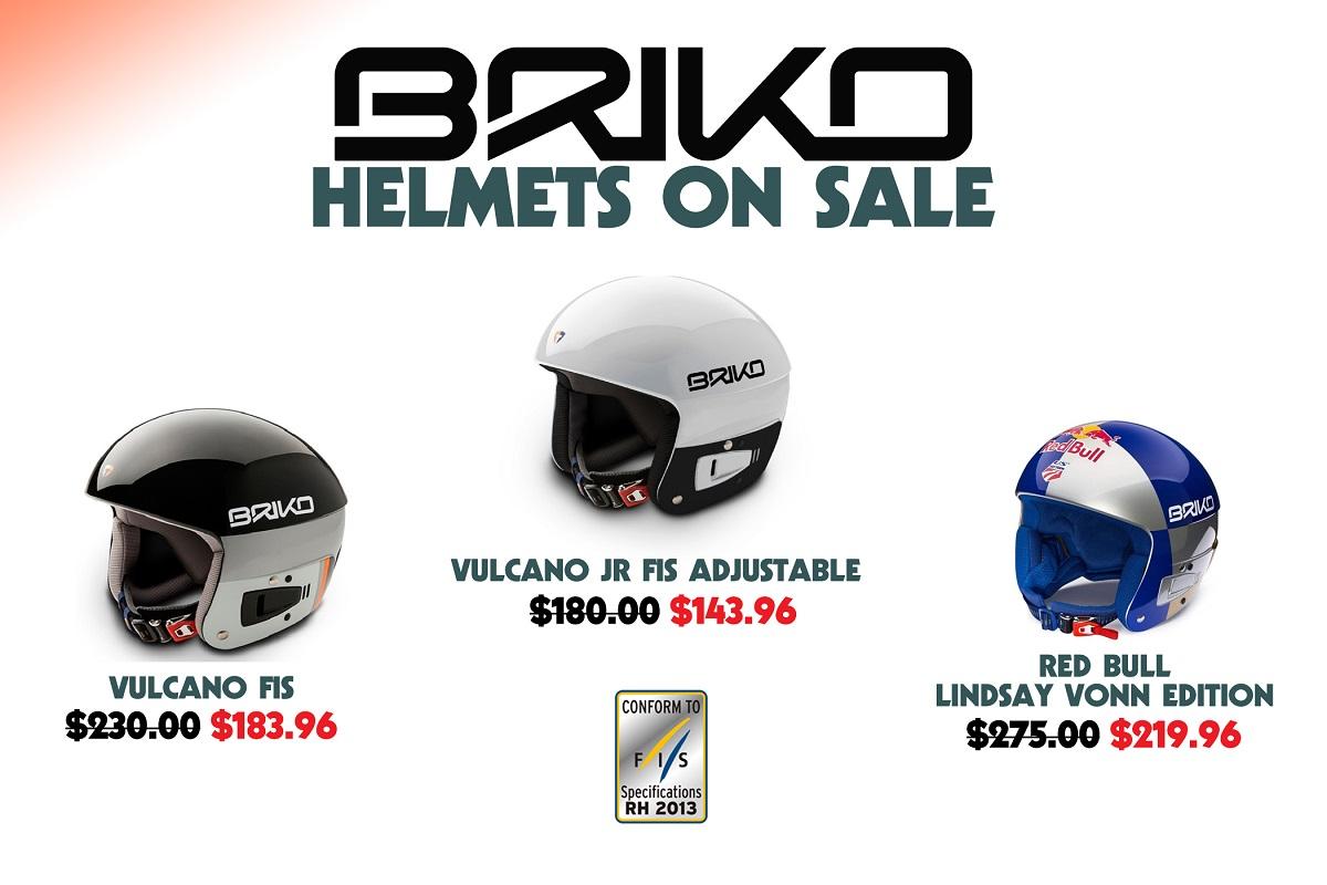 Briko Ski Race Helmets - Descend Sports